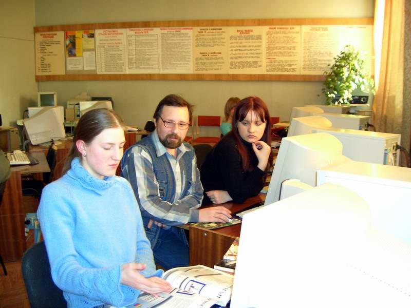 Владимир Викторович на занятии